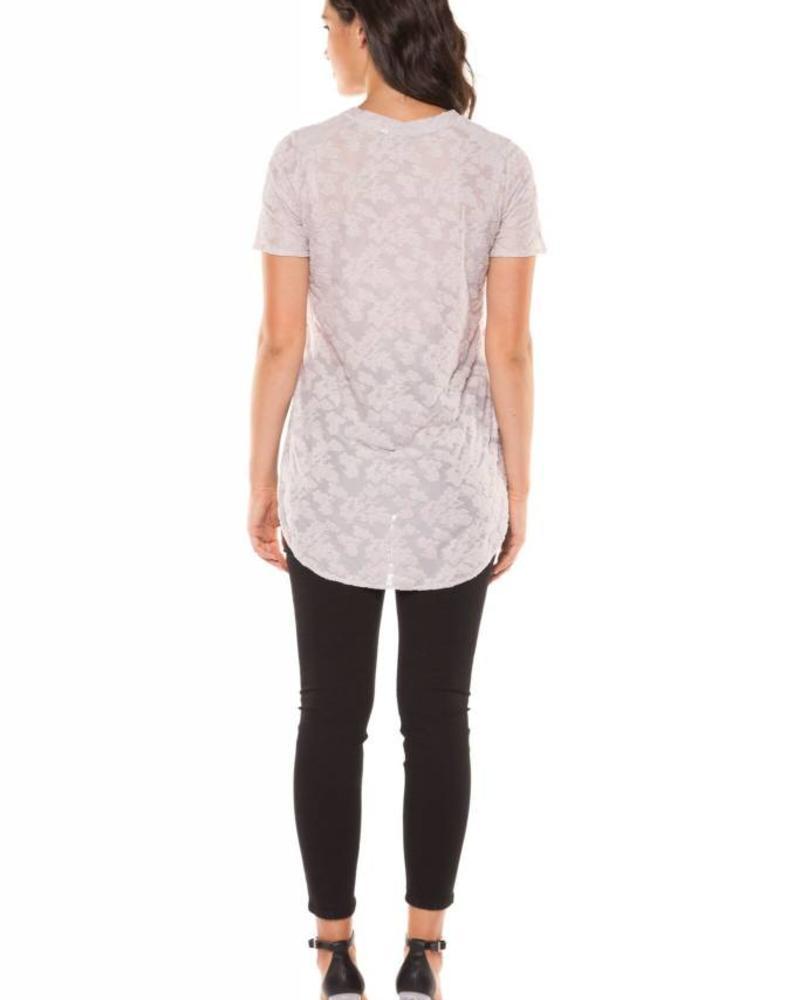 Black Tape/Dex Burnout Lavender T-Shirt