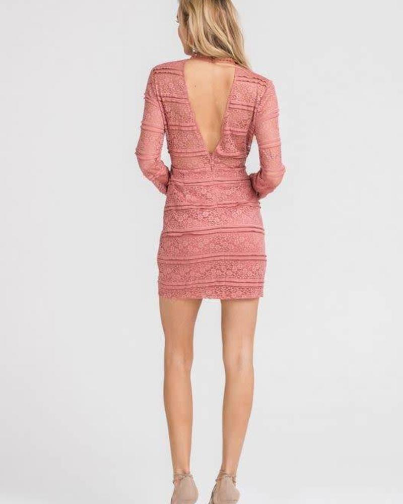 LUSH Rose Dress