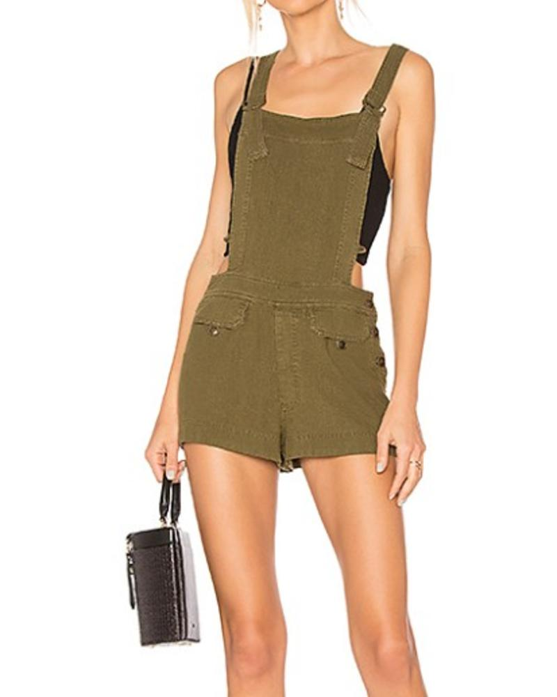 Free People One Piece Army Overall