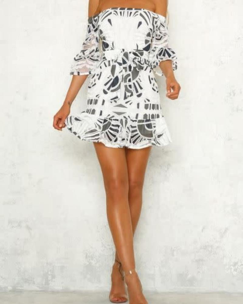 Selfie Geo Dress