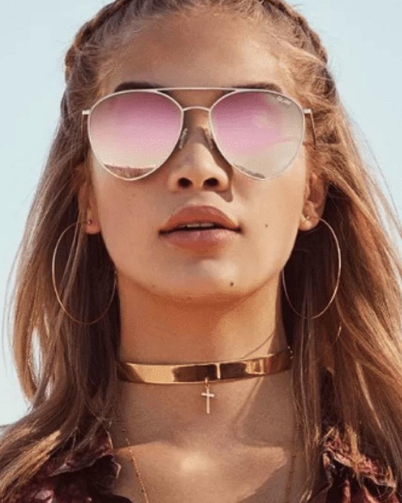 QUAY Indio | Gold/Pink