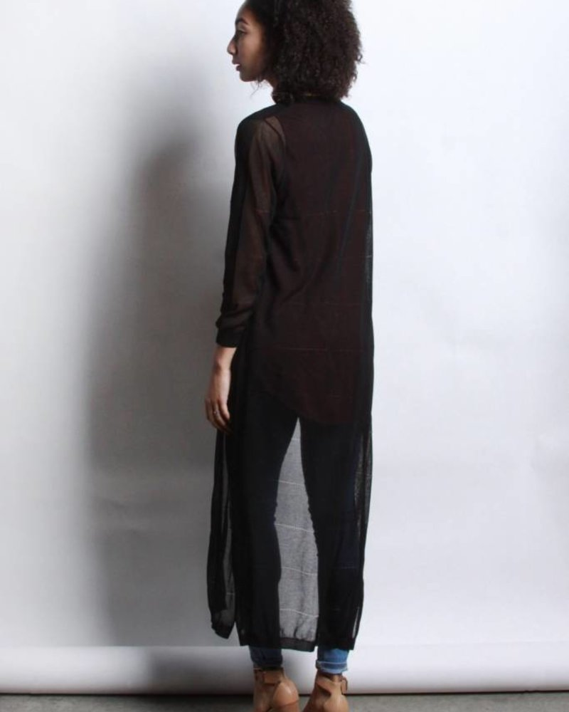 Mod Ref Bobbi Cardigan | Black