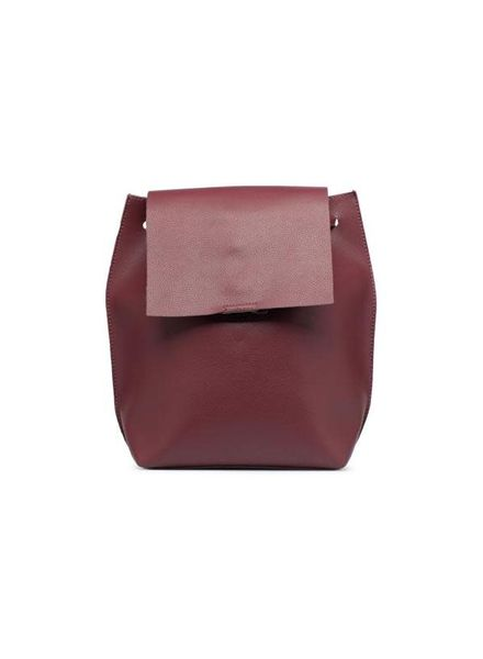 Street Level Wine Slouchy Thin Backpack