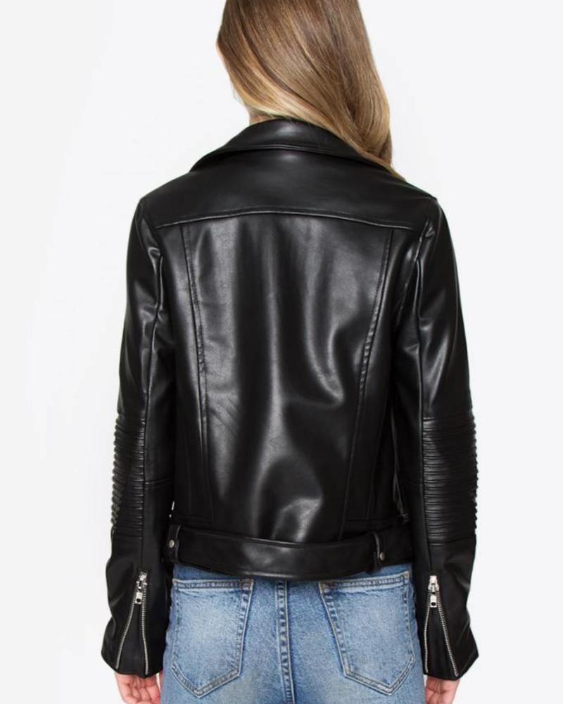 SUGAR + L!PS Silvie Moto Jacket