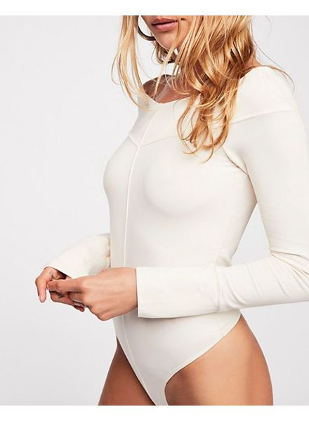 Free People Zone Out Bodysuit