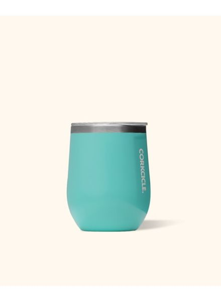 Corkcicle 12 0z. Stemless | Turquoise