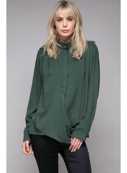 DO+BE Military Collar Blouse