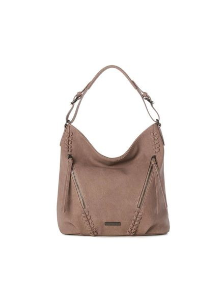 Jeane & Jax Virginie Hobo Bag w Braid Detail | Three Colors!