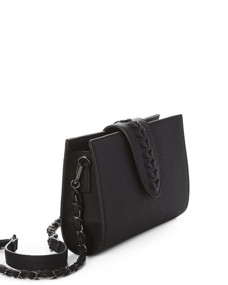 Jeane & Jax Caroline Clutch Bag w Braid Detail | Two Colors!
