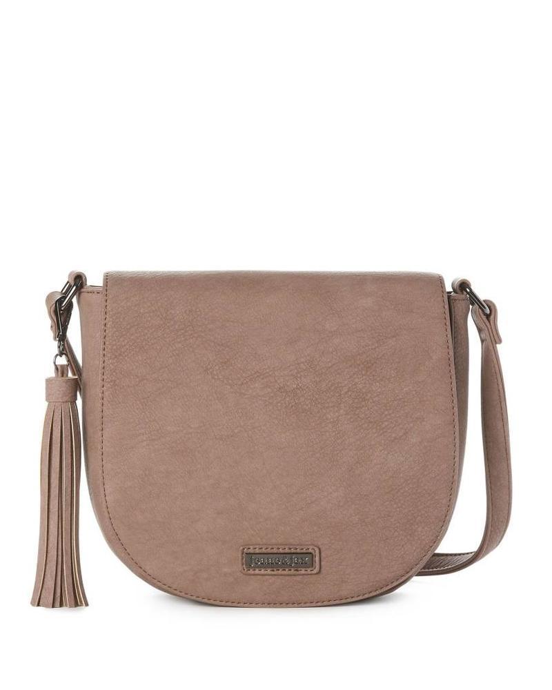 Jeane & Jax Luna Tassel Crossbody Bag | Three Colors!