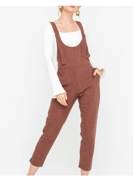 LUSH Woven Overalls