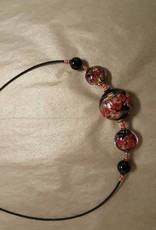Rose Collection-5 Bead Necklace
