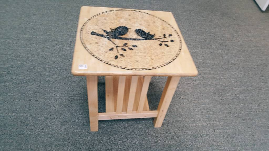 Wooden Square Table