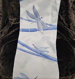 Blue Dragonfly Scarf