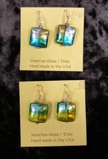 Venetian Collection-Lg Square Earrings