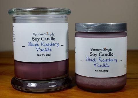 Black Raspeberry Vanilla Candle