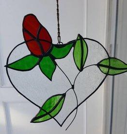 Heart w/Rose