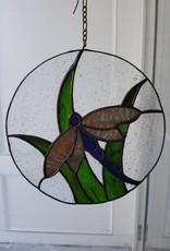 Dragon Fly-Round w/Grass