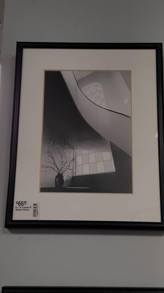8 x 10 Framed & Matted Photos