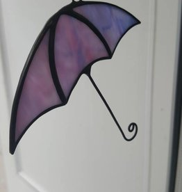 Purple Umbrella Suncatcher