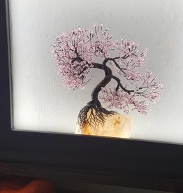 Light Up Wire Tree Framed