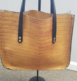 Unlined Leather Handbag
