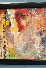 Autumn Leaves-Encaustic