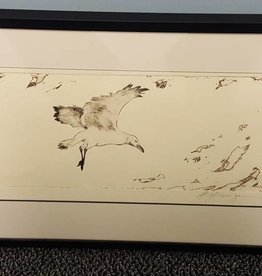 Seagull-Etching