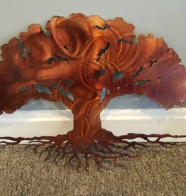 Copper Boarderless Tree of Life