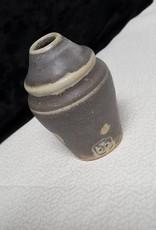 Iron Blue Bud Vase