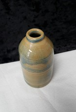 Small Grey and Yellow Vase