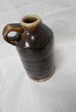 Small Black & White Jug w/handle