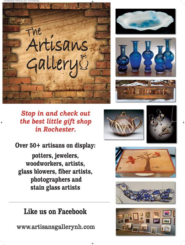 Welcome to The Artisans' Gallery