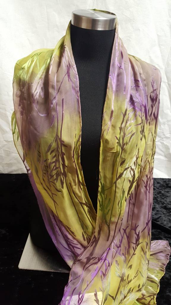 Silk & Rayon Scarf
