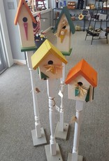 Wooden Garden Bird House