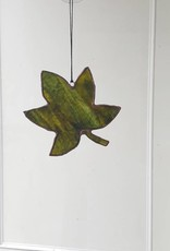 Green Maple Leaf Suncatcher