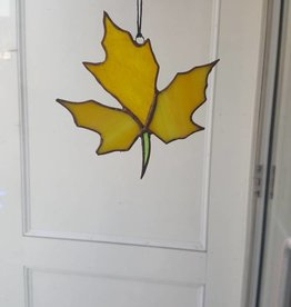 Yellow Maple Leaf-3 part