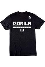 GORILA FITNESS GORILA ATHLETE MEN SHIRT - BLACK