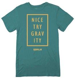 GORILA FITNESS GORILA NICE TRY MEN SHIRT - GREEN