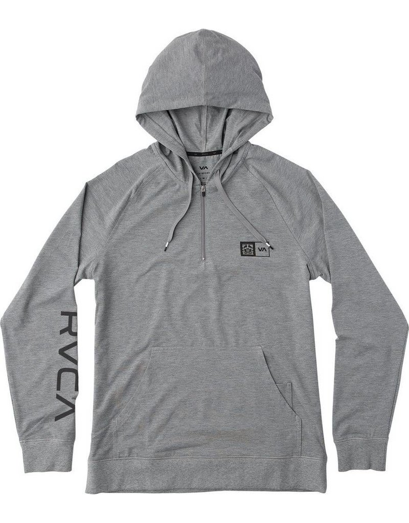 RVCA RVCA BJ HOODIE - ATHLETIC HEATHER
