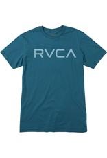 RVCA BIG RVCA T-SHIRT - BLUE TIDE