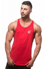 JED NORTH JED NORTH DRI FIT TANK TOP - RED