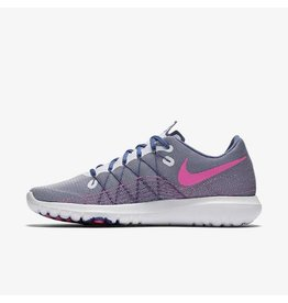 NIKE NIKE FLEX FURY 2 - WHITE/PURPLE/PINK