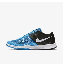 NIKE NIKE ZOOM TRAIN INCREDIBLY FAST - BLUE GLOW/BLACK/WHITE