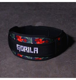 GORILA FITNESS GORILA WEIGHTLIFTING BELT TROPIC