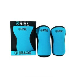 RISE RISE KNEE SLEEVE 7MM BLUE
