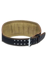 "HARBINGER HARBINGER 6"" PADDED LEATHER BELT"