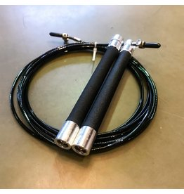 WODSPORTS ULTRA FAST SPEED ROPE METAL SMALL HANDLE SILVER