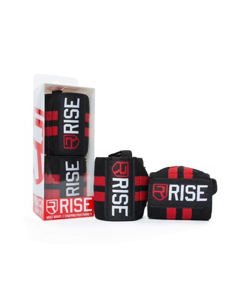 RISE RISE WRIST WRAPS CLASSIC RED 18''