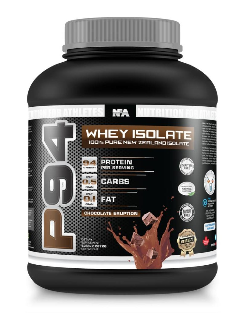 NFA NUTRITION FOR ATHLETES P-94 ISOLATE 5LBS